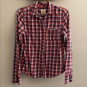 Hollister Women's Flannel Size M